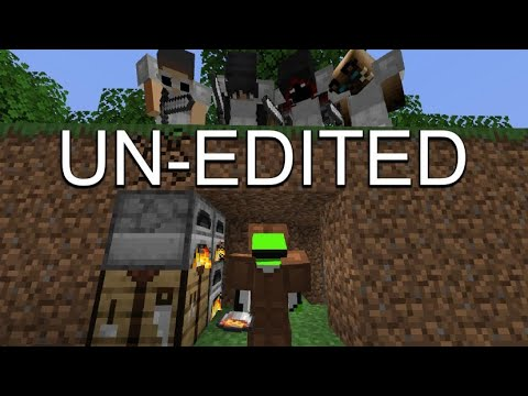 Minecraft Manhunt UNEDITED 4 Hunters FINALE