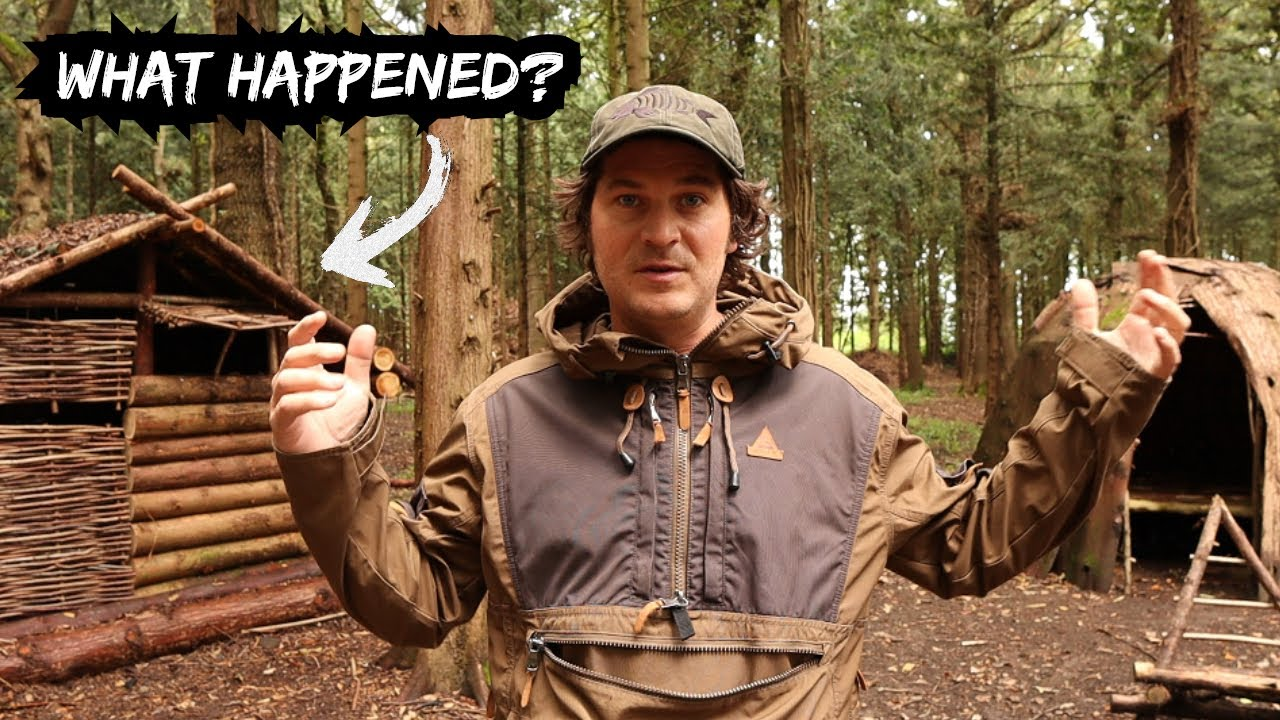 WHY DID I STOP BUILDING THE LOG CABIN? Channel Update & Future Bushcraft Project Ideas