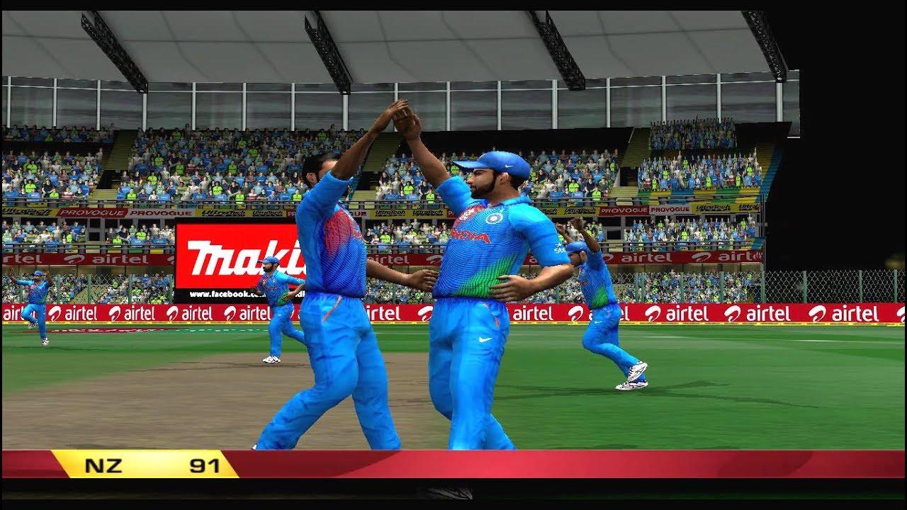 India Vs New Zealand 4 11 2017 2nd T20 Gameplay Ea Sports Cricket 2017