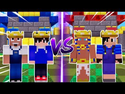 Minecraft: BATALHA 2vs2 NO CRAFT ROYALE !!! ‹ C4IPIRAS ›