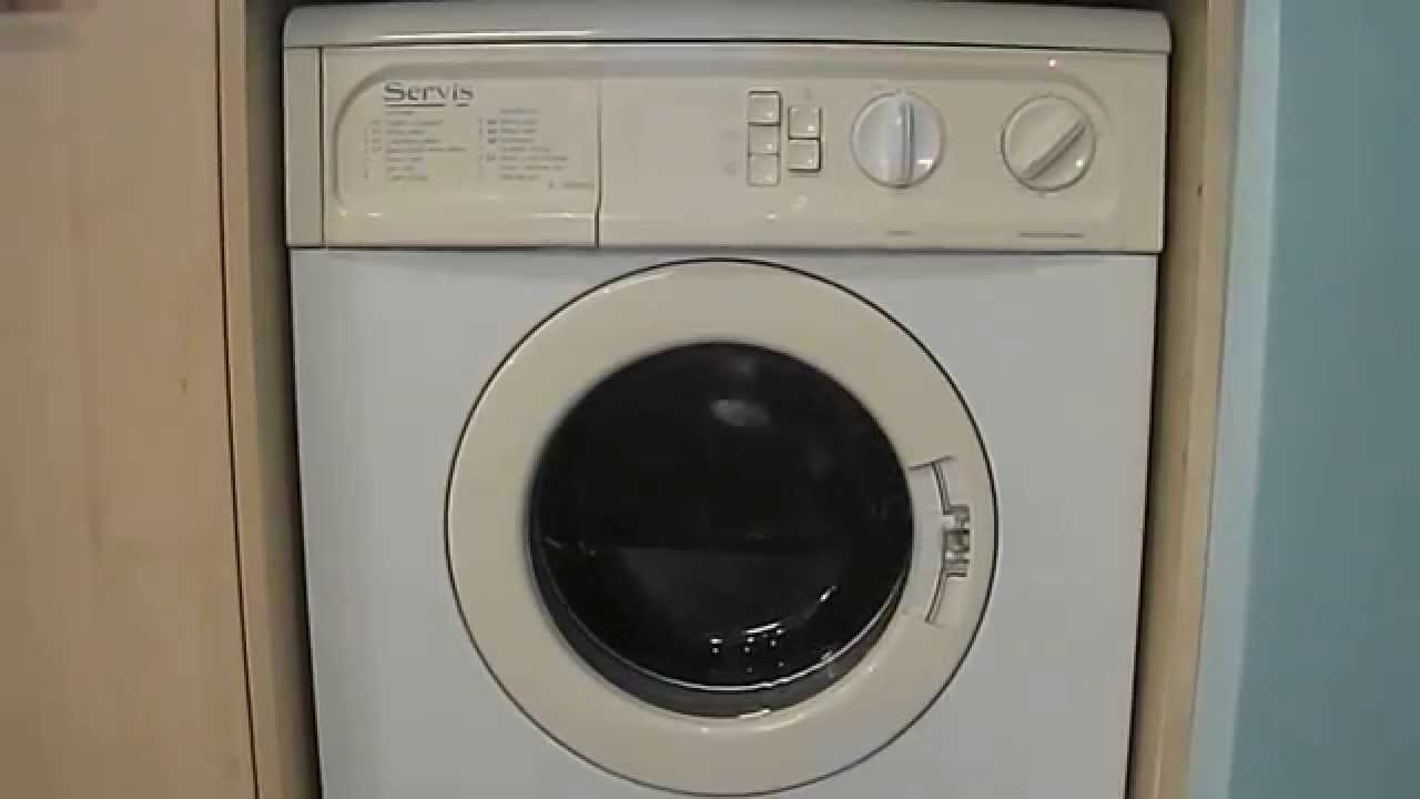 servis s 900wd washer dryer youtube rh youtube com servis washer dryer 900 manual