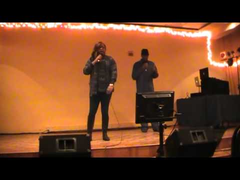 NATE SMILEY N SHANNON DAVIS DOING KEM ''BE MINE FOR CHRISTMAS'' DUET
