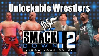 WWF SmackDown! 2 - Hidden Unlockable Wrestlers
