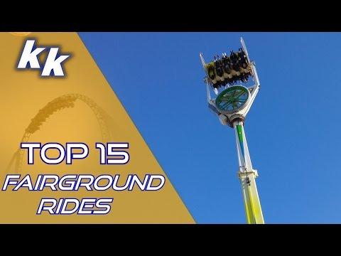 TOP 15: Best European Fairground Rides