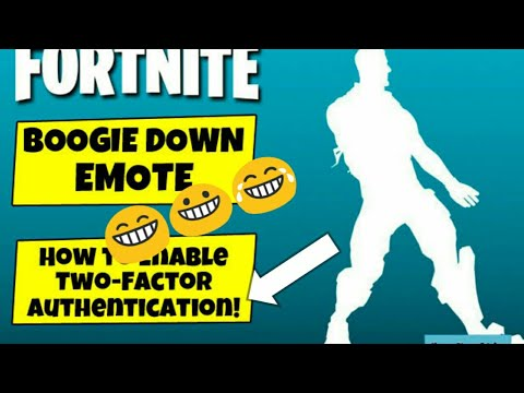 How to enable 2fa on fortnite part 2 !