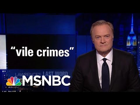Lawrence's Last Word: Donald Trump's Worst Presidential Appointment | The Last Word | MSNBC