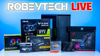 How to Build a PC - Giveaways + $3000 Build in the Phanteks P500a (Ryzen 9 3950x / ASUS RTX 3080)