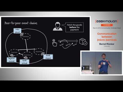 Communication between (micro-)services - Bernd Rücker - Codemotion Amsterdam 2018