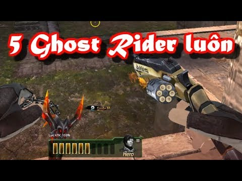 """Khi 5 Ghost Rider Max Đạn càn quét Zombie !! """" Truy Kích VN """""""