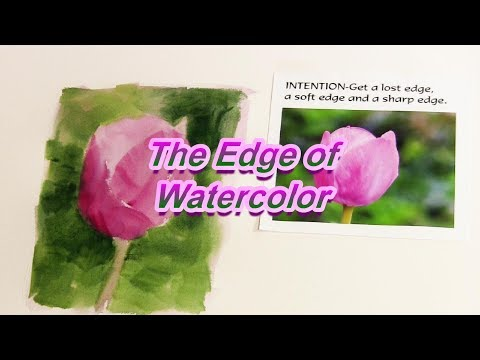 Quick Tip 186 - The Edge of Watercolor
