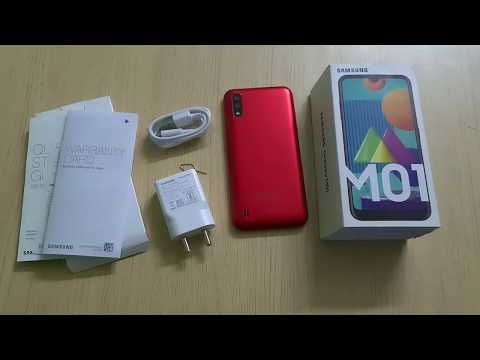 Samsung Galaxy M01 (Red) Unboxing, Setup & Reset