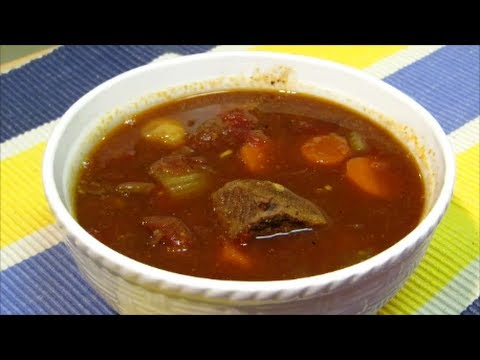 Homemade Vegetable Beef Soup!
