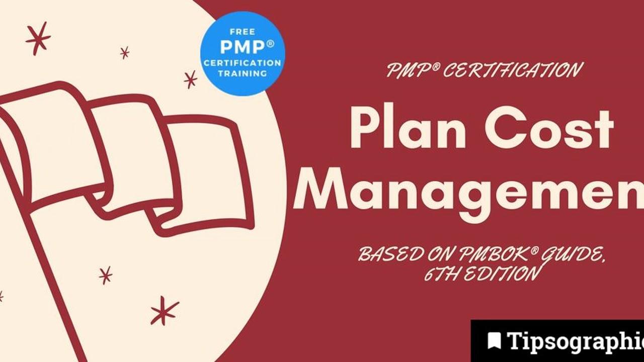 Pmp Exam Prep Plan Cost Management Httpbit2oysirr Youtube