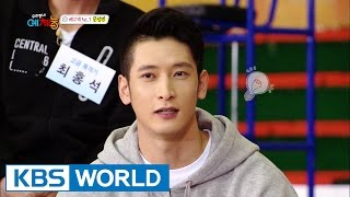Cool Kiz on the Block | 우리�네 예체능 - Special Training with Male Volleyball Players (2016.05.03)