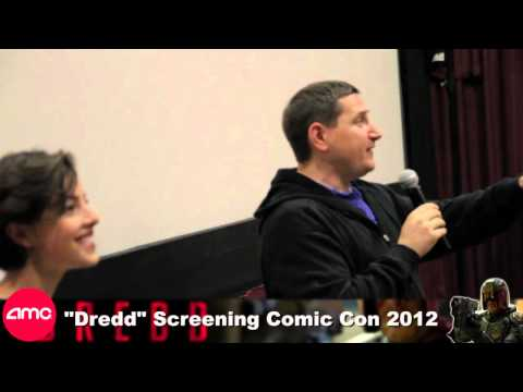 Dredd Comic Con 2012 Screening  with Karl Urban and Olivia Thirlby