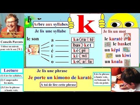 Apprentissage de la lecture Maternelle CP...