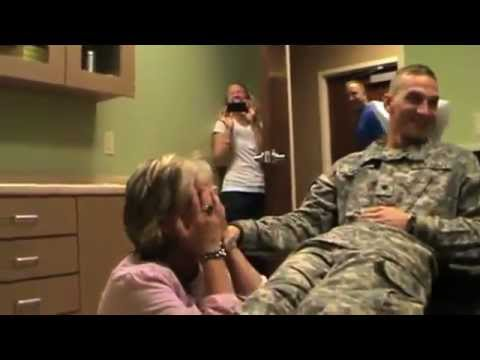 Soldiers Surprise Homecoming Mix