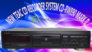 TEAC CD Recorder Device Easy Dubbing and Recorder Via Optical or Analog CD-RW890 Product Demo