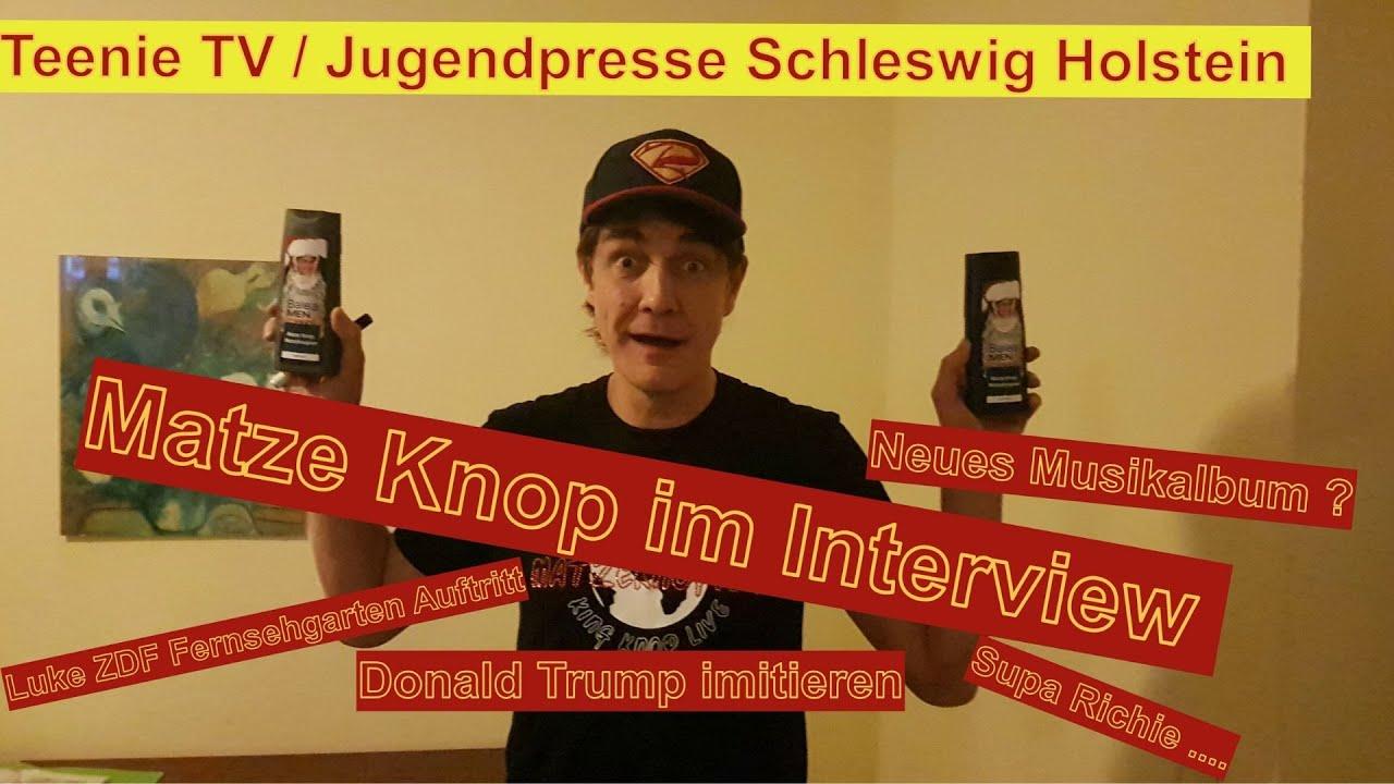 2. Interview mit Matze Knop - Matzeknopien - Was sagt ...