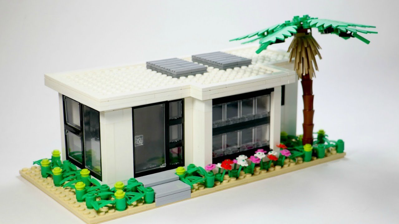 Lego Tiny Modern Home Moc Youtube