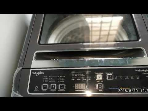 Whirlpool washing machine White Magic fully automatic 6.5kg short review