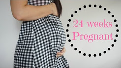 24 WEEKS PREGNANT | BACK PAINS AND LOTS OF MOVEMENT