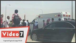 عقب الجنازة الشعبية بمدينة زويل .. جثمان العالم الراحل يتجه لمثواه الأخير بمقابر 6 أكتوبر