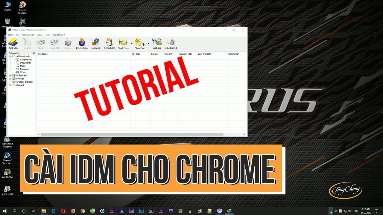 Cách thêm IDM vào Chrome, cài IDM cho Chrome (Install IDM for Chrome)