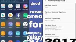 samsung galaxy a7 2017 oreo update good news for Samsung