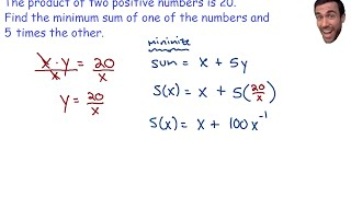 Optimization - Minimum Sum Of Two Numbers