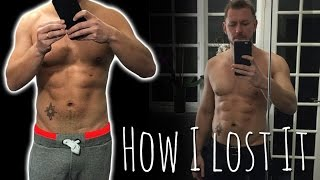 HOW I LOST 28LBS IN 8 WEEKS! MY DIET AND EXERCISE PROGRAM FOR 6 PACK ABS!