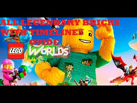 Lego Worlds All 15 Legendary Bricks Guide Timeline Inc.