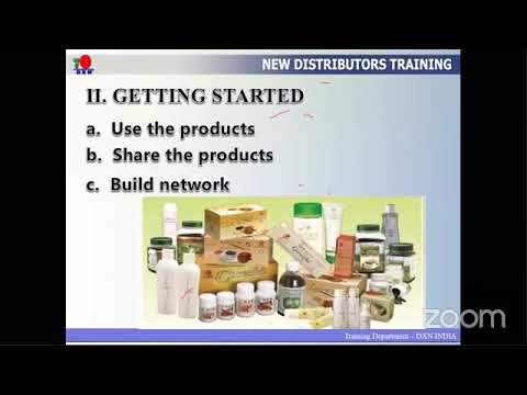 #new #distributors #training in Dxn system. - YouTube