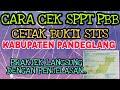 Cara Cek Tagihan Sppt Pbb Dan Cetak Struk Stts Online Kabupaten Pandeglang 2018