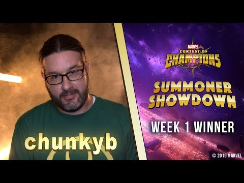 Marvel Contest of Champions: Summoner Showdown   Week 1 Winner