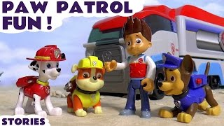 Paw Patrol Fun Play with Minions & Thomas and Friends | Surprise Eggs and Bowling | Family Friendly