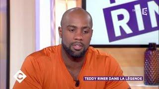 Teddy Riner dans la légende - C à Vous - 15/11/2017
