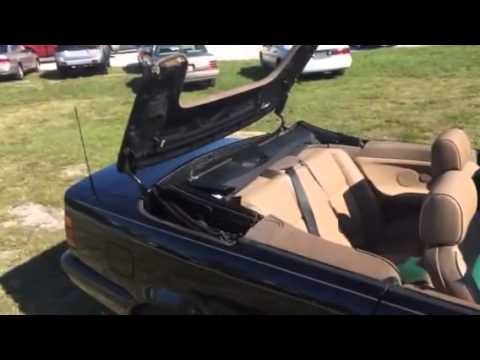 1997 BMW 328i convertible top  YouTube