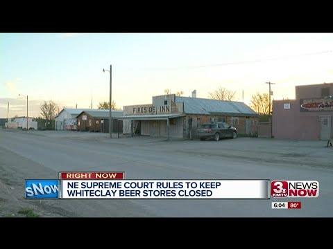Nebraska Supreme Court rules to keep Whiteclay beer stores closed