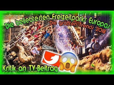 Die beliebtesten Freizeitparks Europas 2018 - Unglaublicher Beitrag auf kabel eins - Unsere Kritik 🎢