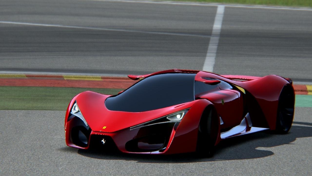 Ferrari F80 Concept At Spa Francorchamps Youtube