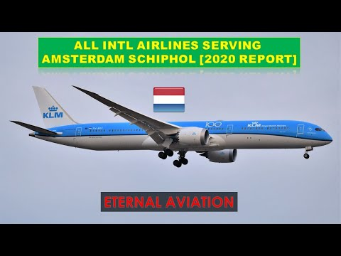 AMSTERDAM SCHIPHOL,NETHERLANDS - all intl airlines services