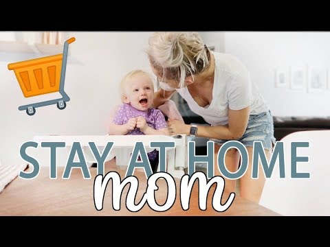 DAY IN THE LIFE OF A STAY AT HOME MOM 2018 + WALMART GROCERY HAUL