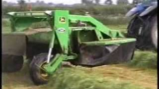 Forage machinery at work part 1 of 2