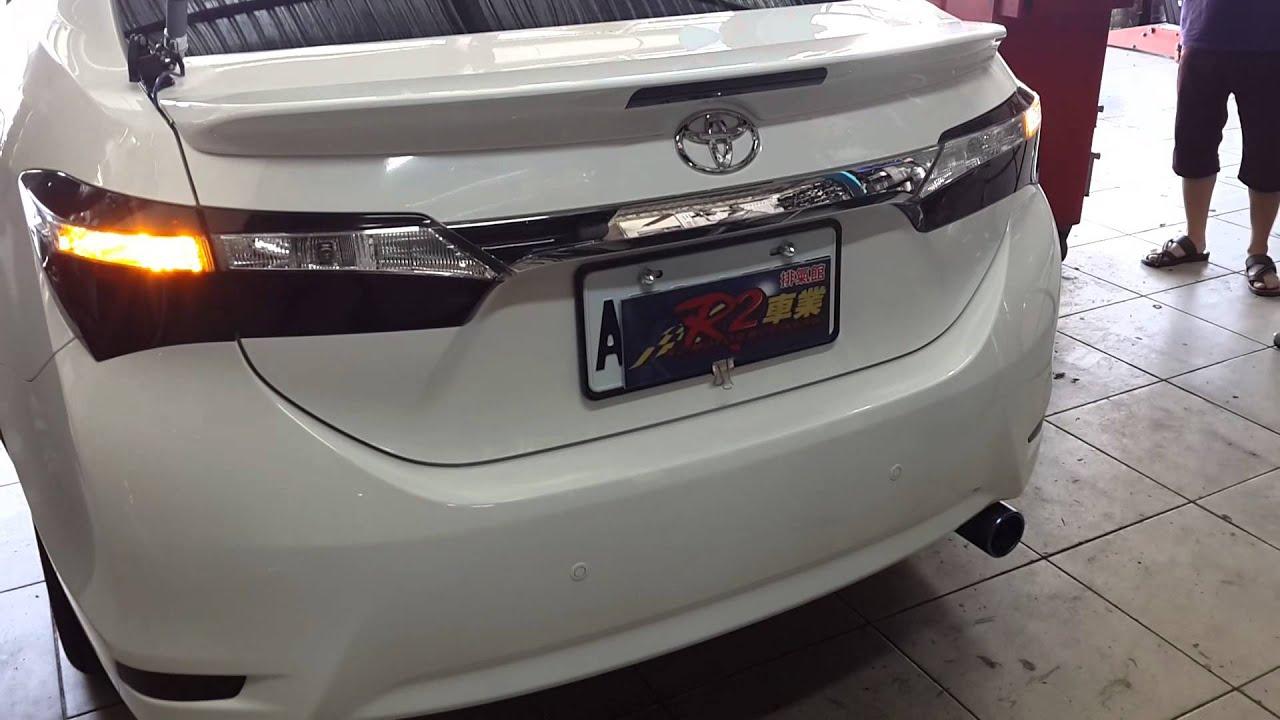 All New Corolla Altis Vs Civic Camry Commercial Toyota 11代 尾管改裝半回壓原廠型尾段排氣管聲音檔 Youtube