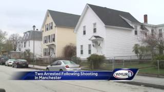 Two men arrested after shooting in Manchester