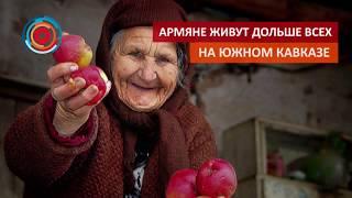 Армяне живут дольше всех на Южном Кавказе