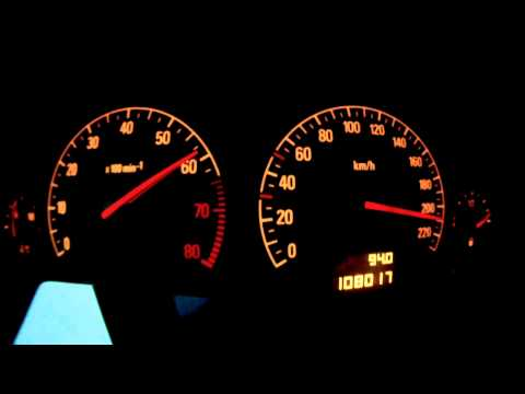 Opel Vectra C 1.8 16V 90kW / 122PS || 0-220 Km/h || 0-100 Km/h In 10,3 Sek.