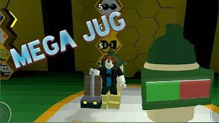 Alle Bienen Level 5, Mega Krug, Schwarzbär Quests #7 Roblox Bee Swarm Simulator
