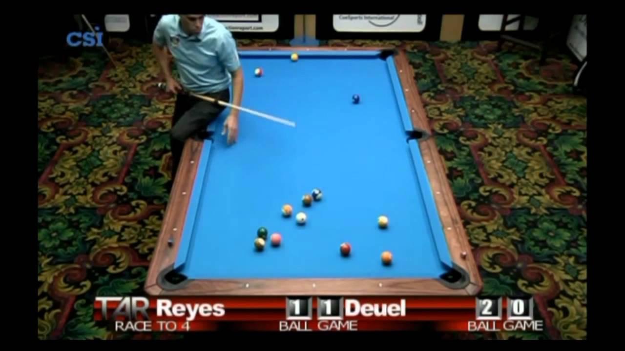 2011 US Open Onepocket - Efren Reyes - Corey Deuel (Part 1)